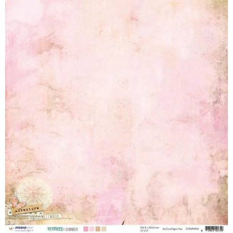 Studio Light Scrapbook Papier 10 BO 30,5x30,5 M.of Sum.nr 04 SCRAPMS04