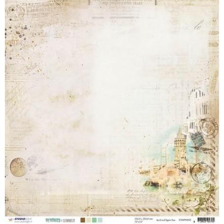 Studio Light Scrapbook Papier 10 BO 30,5x30,5 M.of Sum.nr 02 SCRAPMS02