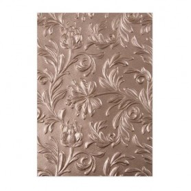 Sizzix 3-D Embossing Folder - Leaf  Tim Holtz