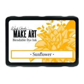 Ranger MAKE ART Dye Ink Pad Sunflower  Wendy Vecchi 5,8x8,3cm