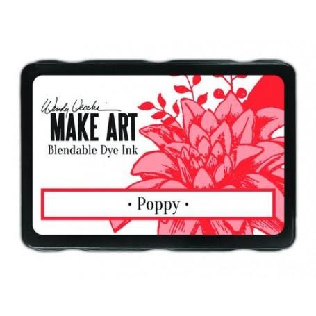 Ranger MAKE ART Dye Ink Pad Poppy  Wendy Vecchi 5,8x8,3cm