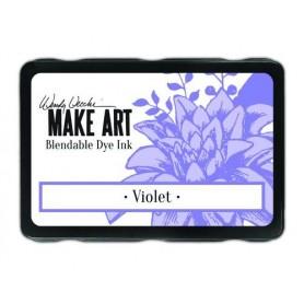 Ranger MAKE ART Dye Ink Pad Violet  Wendy Vecchi 5,8x8,3cm