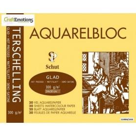 Schut Terschelling Aquarellblock Glatt 24x30cm 300 gram - 20 sheets