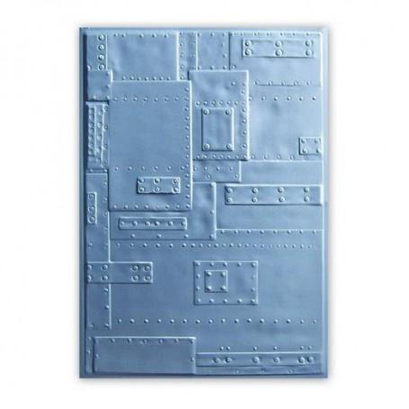 Sizzix 3-D Embossing Folder - Rivets 662717 Tim Holtz