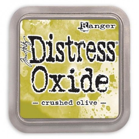 Ranger Distress Oxide - Crushed Olive  Tim Holtz