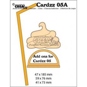 Crealies Cardzz no 5A Add ons Fur Becher zum Mitnehmen