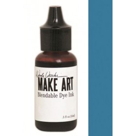 Ranger MAKE ART Dye Ink Pad Reinkers Bluebird  Wendy Vecchi 15ml
