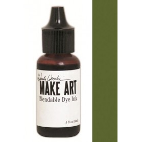 Ranger MAKE ART Dye Ink Pad Reinkers Fern Green  Wendy Vecchi 15ml
