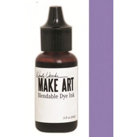 Ranger MAKE ART Dye Ink Pad Reinkers Violet Wendy Vecchi 15ml