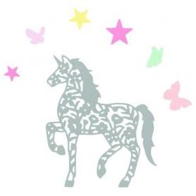Sizzix Thinlits Die set - 5PK Intricate Unicorn  Sophie Guilar
