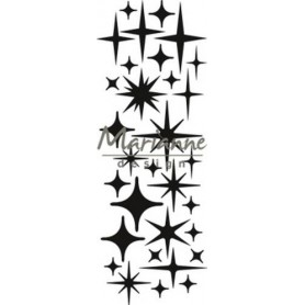 Marianne D Craftable Sterne CR1448 8 x 16 cm