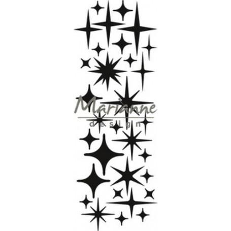 Marianne D Craftable Sterne CR1448 8 x 16 cm