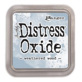 Ranger Distress Oxide - Weathered Wood  Tim Holtz