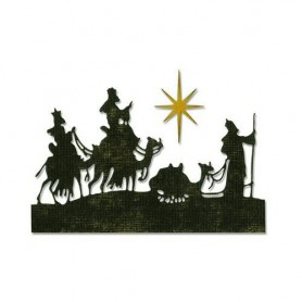 Sizzix Thinlits Die - Set 2PK - Wise Men 663127 Tim Holtz