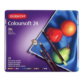 Derwent Coloursoft 24 st Tin