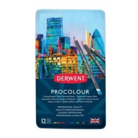 Derwent Procolour 12 pc Tin