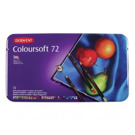 Derwent Coloursoft 72 st Tin