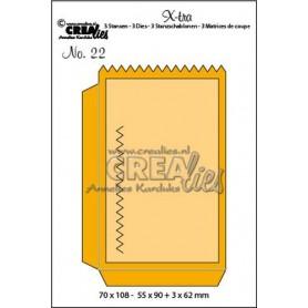 Crealies X-tra no. 22 kleine Tasche CLXtra22 55x90 - 70x108