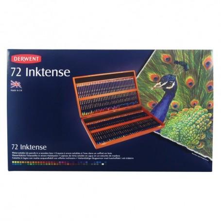 Derwent Inktense 72 st Holz Box (wasserlöslich)