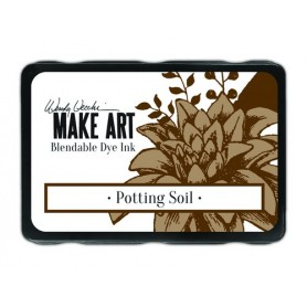 Ranger MAKE ART Dye Ink Pad Potting Soil  Wendy Vecchi