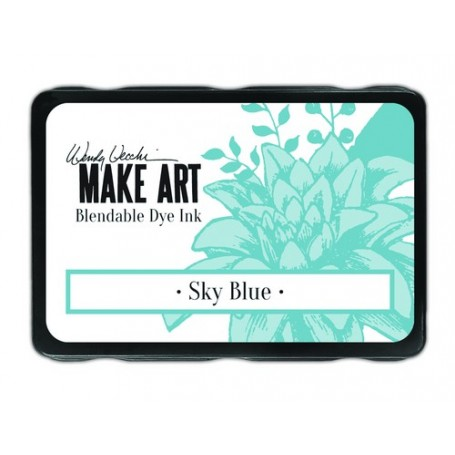 Ranger MAKE ART Dye Ink Pad Sky Blue  Wendy Vecchi