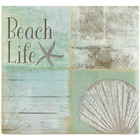 Beach Coast Post Bound Scrapbook 12 x 12