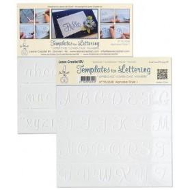 LeCrea - Schablone für Handlettering Alphabet