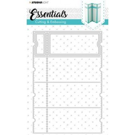 Studio Light Embossing Die Cut Stencil Essentials nr.169
