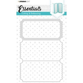 Studio Light Embossing Die Cut Stencil Essentials nr.170