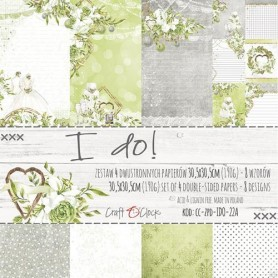 "Premium Paper Collection Set 12""*12"" I Do"