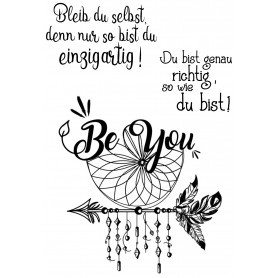 """Memories4you Stempel (A6)  """"Be you"""""""