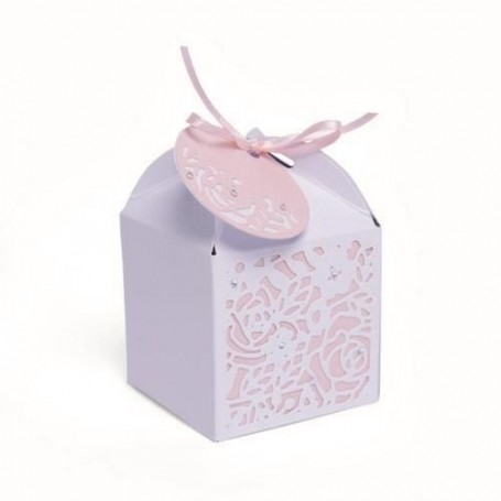 Sizzix Thinlits Die Set - 4PK Decorative Favour Box  Olivia Rose
