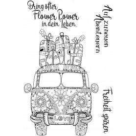 "Memories4you Stempel (A6)  ""Flower Auto"""