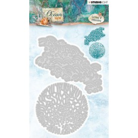 Studio Light Embossing Die 144 x 98 mm Ocean View nr.194