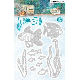 Studio Light Embossing Die 115 x 94 mm Ocean View nr.192