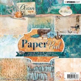 Studio Light Paper pad 36 Bogen Ocean View 3.0 nr 118