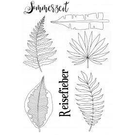 """Memories4you Stempel (A6)  """"Tropical Blätter"""""""