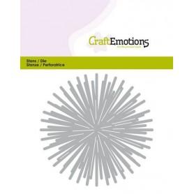 CraftEmotions Die - stern - scheinen Card 11x9cm - 8,5cm