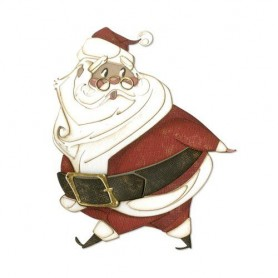 Sizzix Thinlits Die Set - 14PK Jolly St. Nick  Tim Holtz