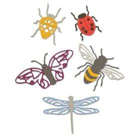 Sizzix Thinlits Die Set - 5PK Insects  Jennifer Ogborn