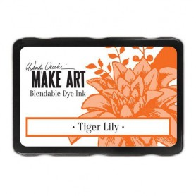 Ranger MAKE ART Dye Ink Pad Tiger Lily  Wendy Vecchi