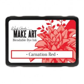 Ranger MAKE ART Dye Ink Pad Carnation Red Wendy Vecchi