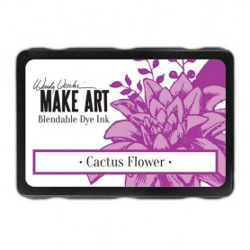 Ranger MAKE ART Dye Ink Pad Cactus Flower Wendy Vecchi