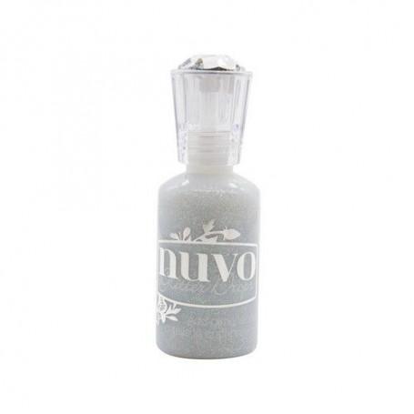 Nuvo Glitter drops - silver crystals