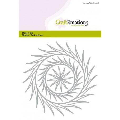 CraftEmotions Die - Frames leuchten Card 10,5x14,8cm - 3,5cm - 10,5cm