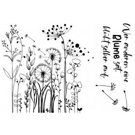 "Memories4you Stempel (A6)  ""Herbstblume"""