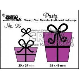 Crealies Partz no. 35 Geschenke 30 x 29 mm - 38 x 49 mm
