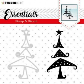Studio Light Stamp & Die Cut A6 Essentials Silhouettes nr 36