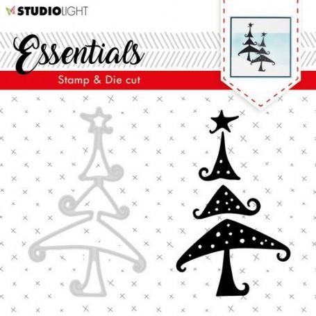 Studio Light Stamp & Die Cut A6 Essentials Silhouettes nr 36