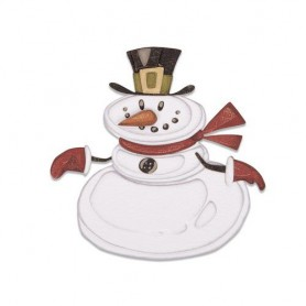 Sizzix Thinlits Die set - 11PK Mr. Snowman Colorize  Tim Holtz